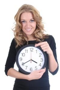 L'horaire hebdomadaire dépend des périodes