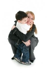 Trouver des enfants à caliner