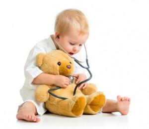 Trousse de secours d'assistante maternelle