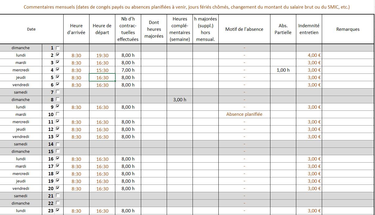 modele fiche de paie assistant maternelle gratuit ay25